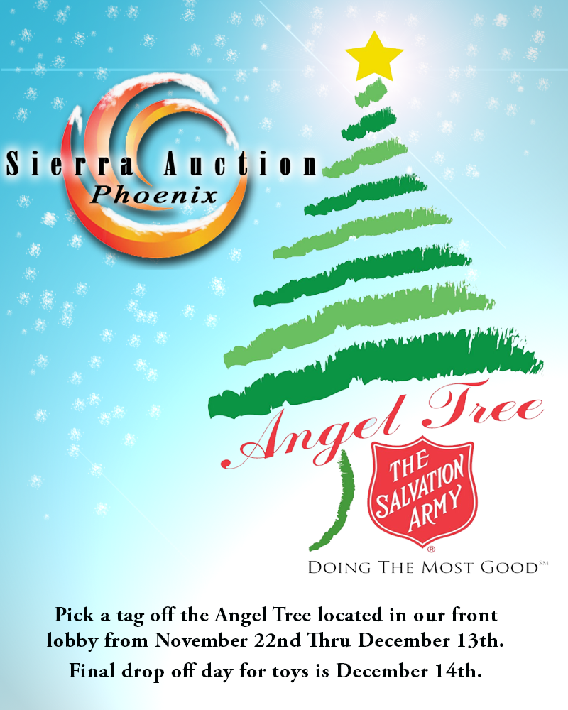 Salvation Army Gifts For Christmas: Sierra News And Updates: Sierra Auction Is Hosting A