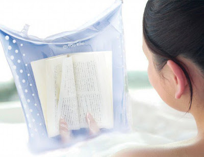 Waterproof Book Cover Bath Bag