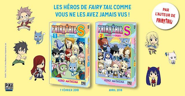 Fairy Tail S - Short Stories, Manga, Actu Manga, Pika Édition, Hiro Mashima,