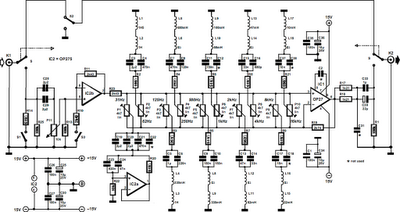 10-Band_Equalizer_Circuit_Diagram  Bose Amplifier Wiring Diagram on