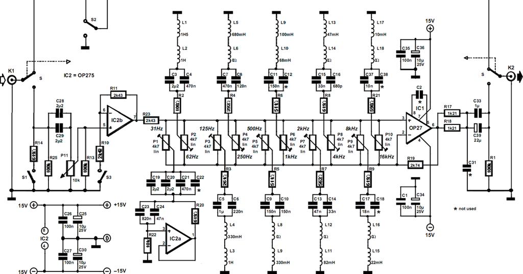 passive filter circuits 3