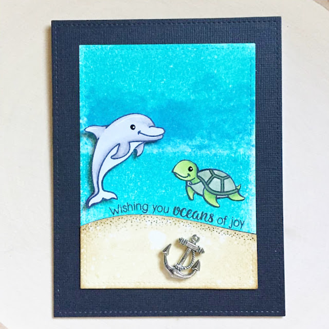 Sunny Studio Stamps: Sunny Saturday Summertime Customer Card Share by Deneen Cook