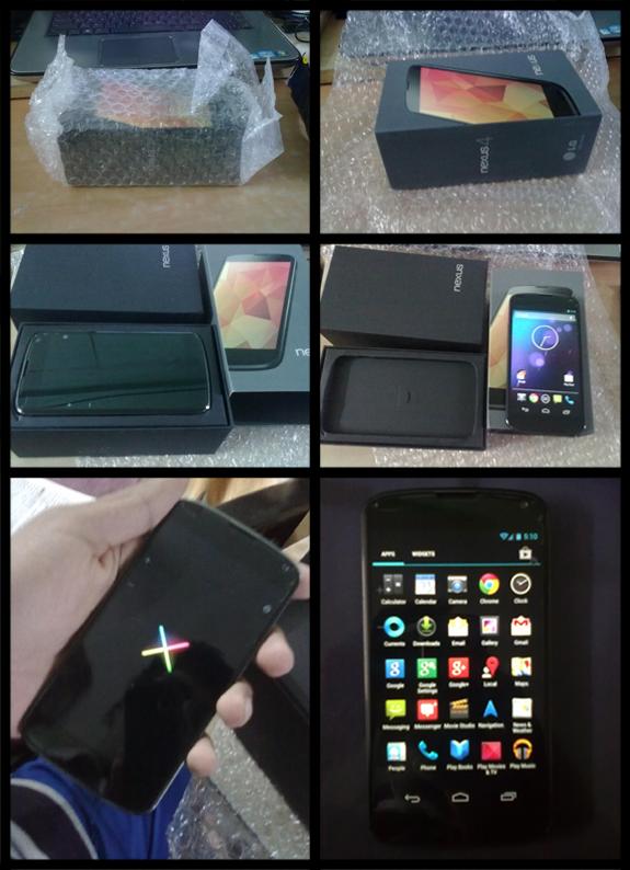 Google Nexus 4 - Unboxing