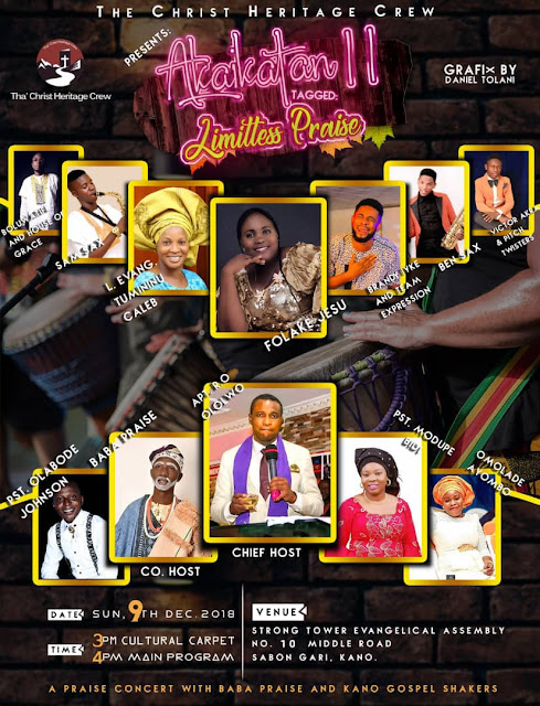 "BABAPRAISE STORMS THE CITY OF KANO WITH AKAIKATAN2018 ""LIMITLESS PRAISE"""