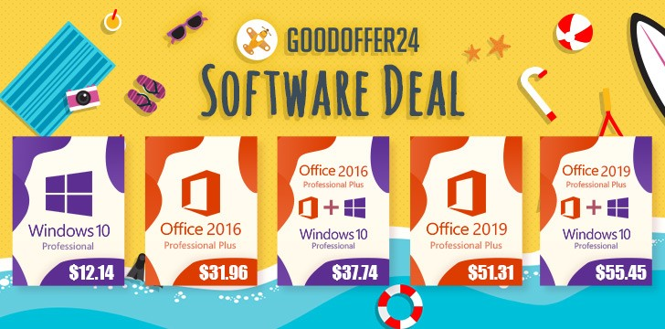 Buy Windows 10 and Office packages with up to 30% discount