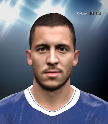 PES 2016 Eden Hazard Face By DzGeNiO