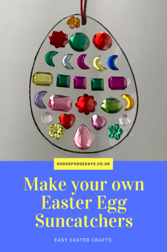 Make your own Easter sun catcher