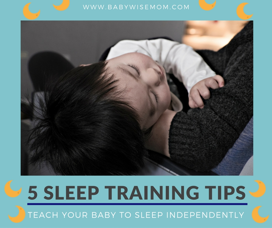 5 Sleep Training Tips