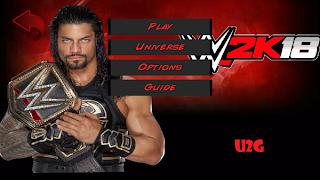 Wrestling Revolution 3D WWE 2K18 MOD