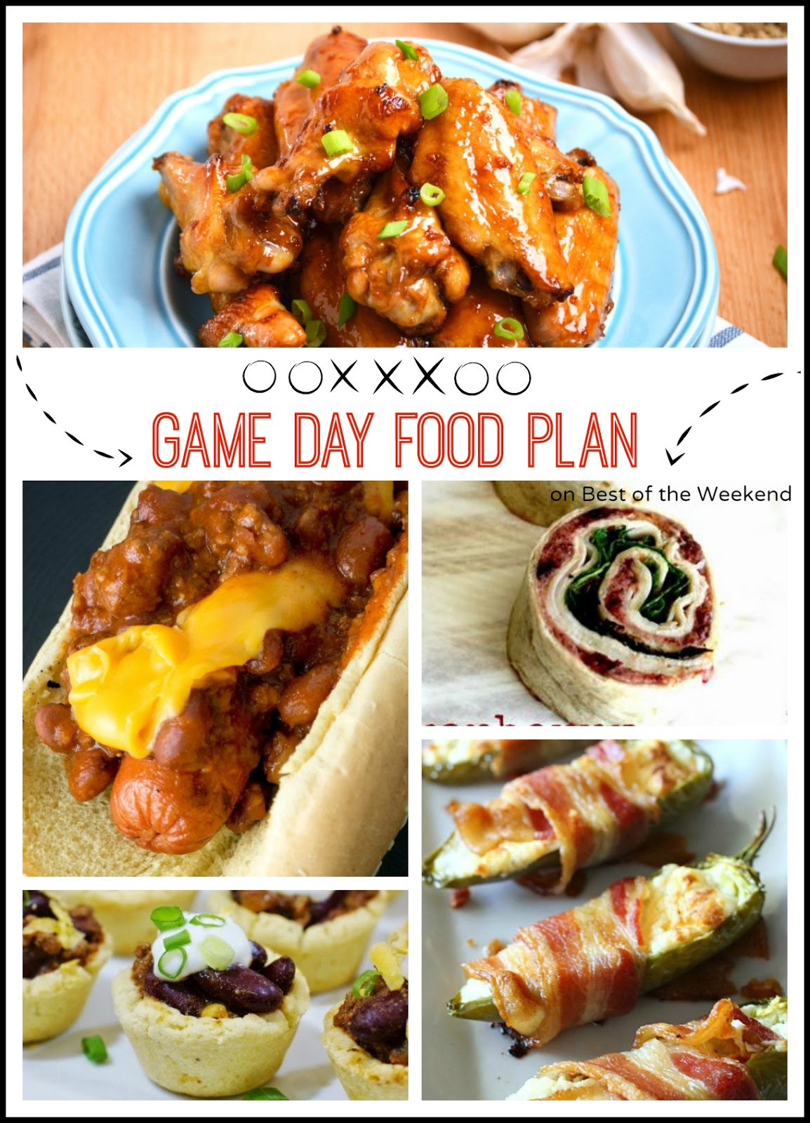 Game Day Food Plan | Cooking on the Front Burner