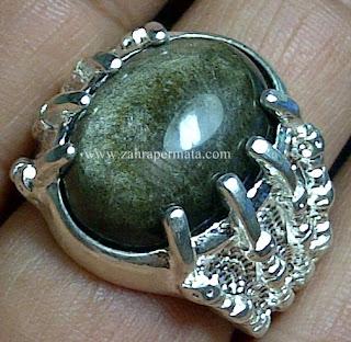 Cincin Batu Bulu Monyet - ZP 552