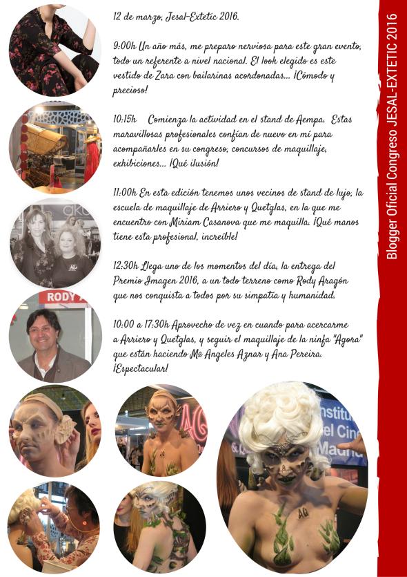 blogger oficial en jesal extetic premio imagen arriero quetglas