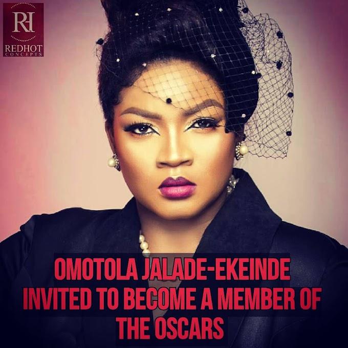 'The Oscars' Extends Membership Invitation To Nollywood's Omotola Jalade-Ekeinde