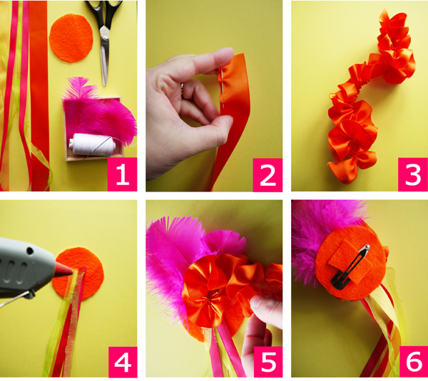 TUTORIAL: Mexican Senorita DIY Hair Accessory for your Cinco de Mayo Celebrations - BirdsParty.com