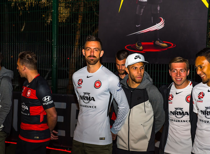 c1874d6a The new Nike Western Sydney Wanderers 2017-18 home and away jerseys have  been released tonight. +2. 3 of 3. 1 of 3