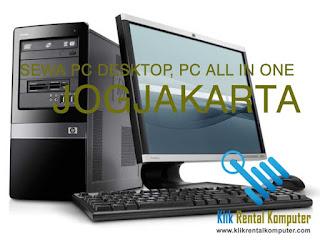 pusat sewa rental komputer pc desktop pc all in one di Jogjakarta Yogyakarta, jasa rental komputer Jogjakarta