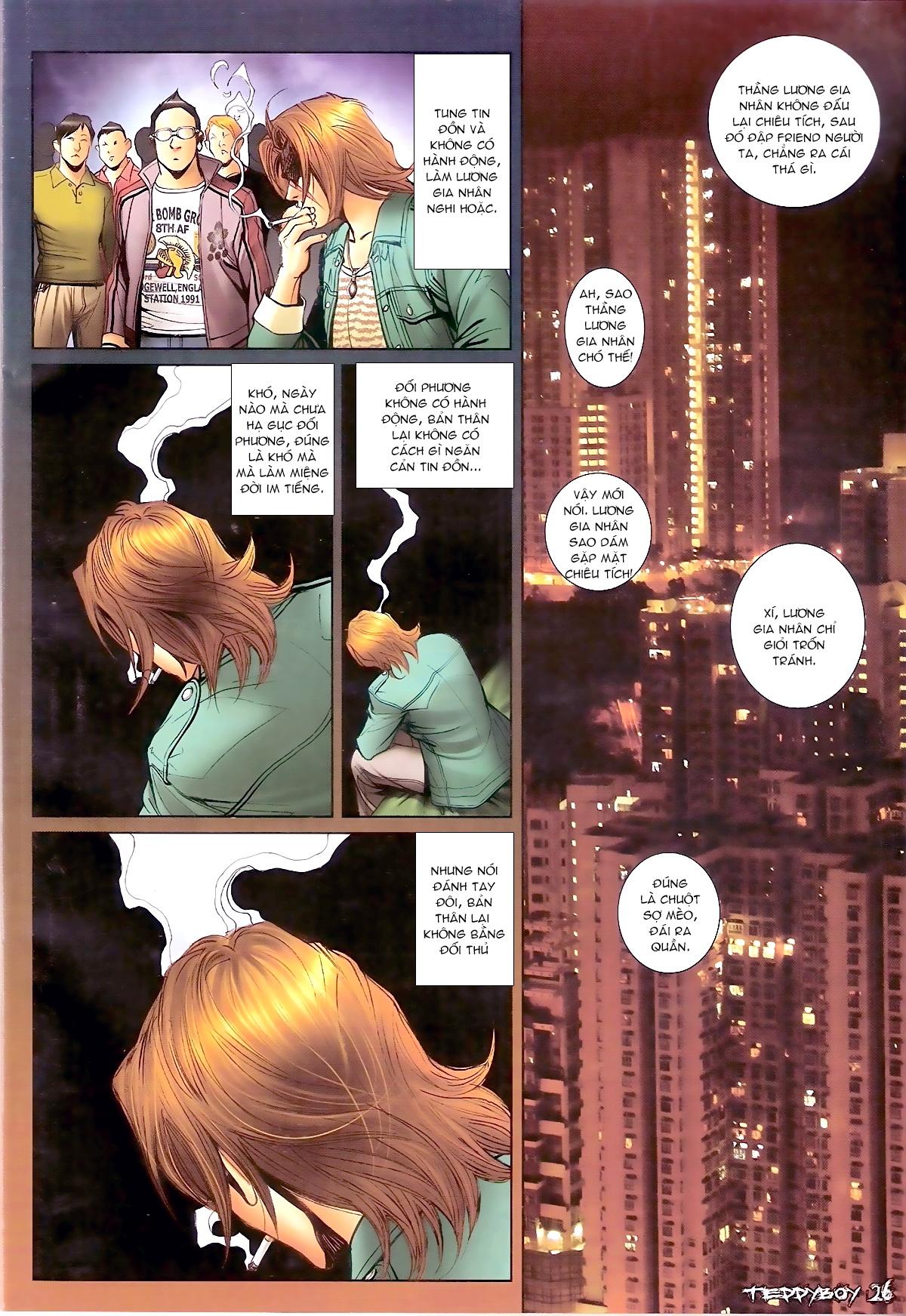Người Trong Giang Hồ - Chapter 1335: Nam Ca chỉ chiêu - Pic 22