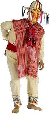 Foto de vestimenta de la danza de los viejitos