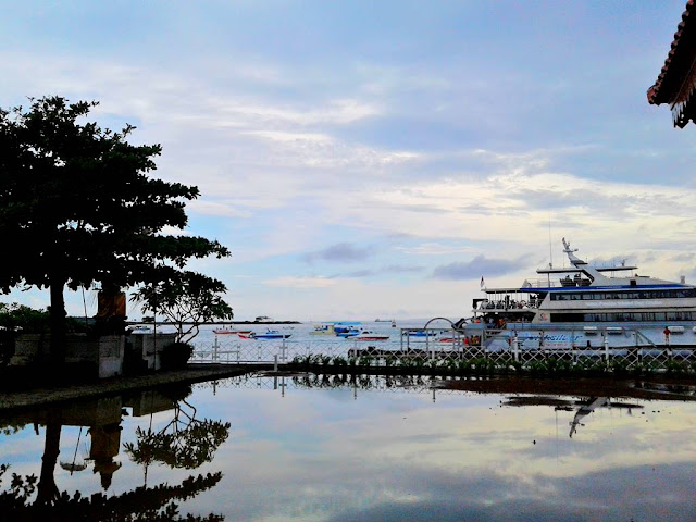 The View of Tanjung Benoa Port