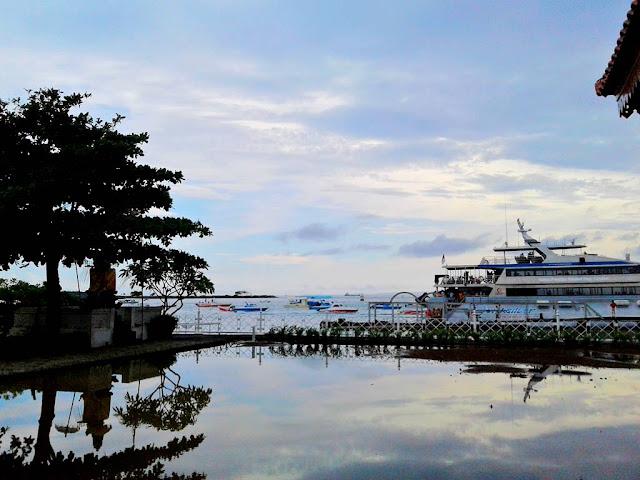 The View of Tanjung Benoa Port