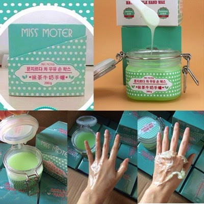Miss Moter Matcha Milk Hand Wax