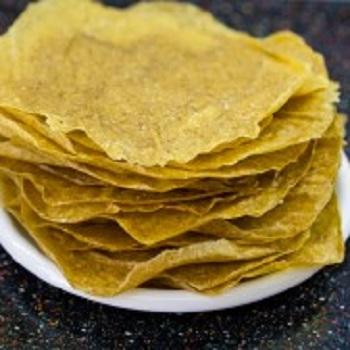 tortilla raw de porumb