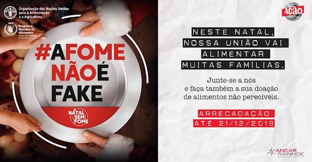 Shoppings de São Paulo arrecadam doações para campanha Natal Sem Fome