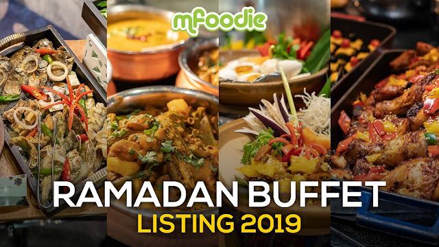Ramadan Buffet Listing 2019 Malaysian Foodie