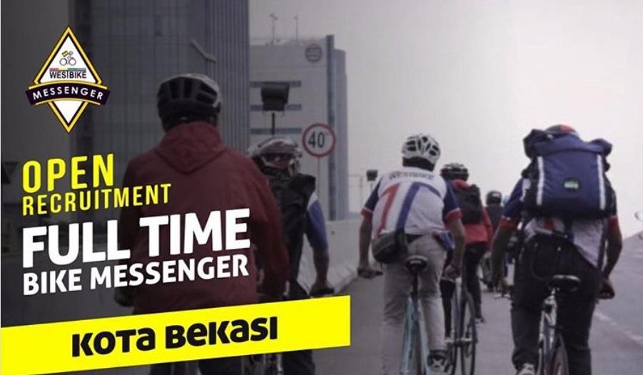 Pembukaan Penerimaan Kurir Sepeda Westbike Messenger Untuk Kota Bekasi Secara Online