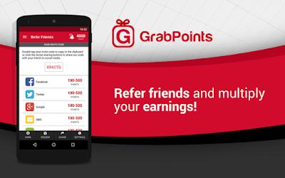 Grabpoints : Cara Mudah Dapat Duit Tanpa Instal Aplikasi