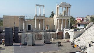 Teatro Romano de Plovdiv.