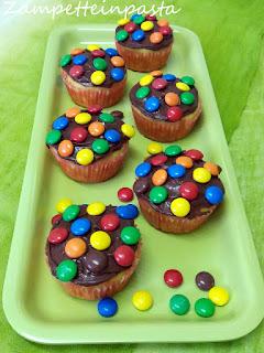 Muffin colorati allo yogurt - Ricette di Carnevale