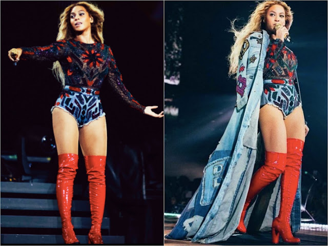 Beyonce in Roberto Cavalli by Peter Dundas Performing on ...