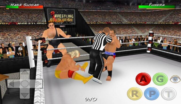 Wrestling Revolution 3D hack