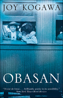 Book cover for Joy Kogawa's Obasan in the South Manchester, Chorlton, and Didsbury book group