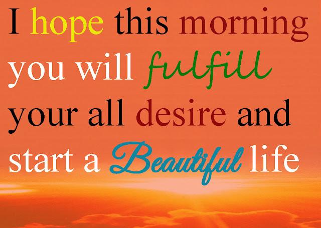 start a beautiful life, inspiring