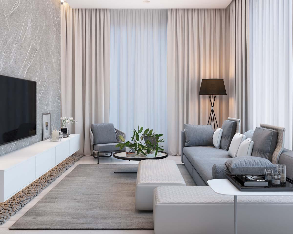 Desain Interior Apartement Desain Interior Apartemen Yang Tampak