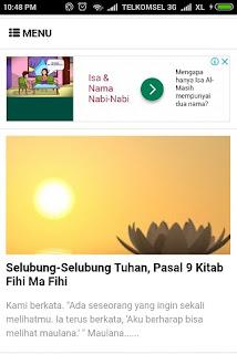 Iklan Dari Situs Agama Nasrani Muncul di Blog Para Pejalan