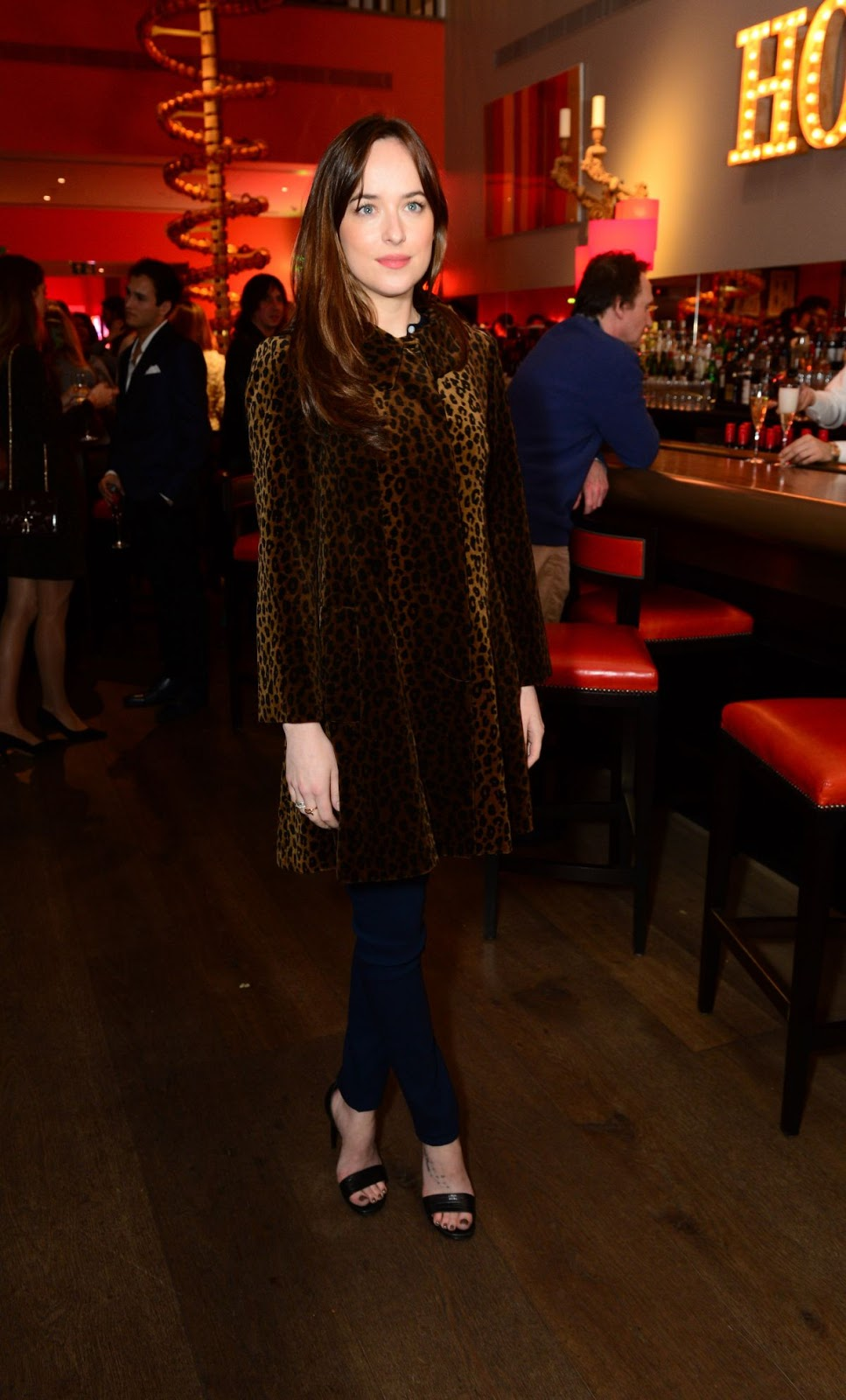 Dakota Johnson at Bigger Splash Photocall in London