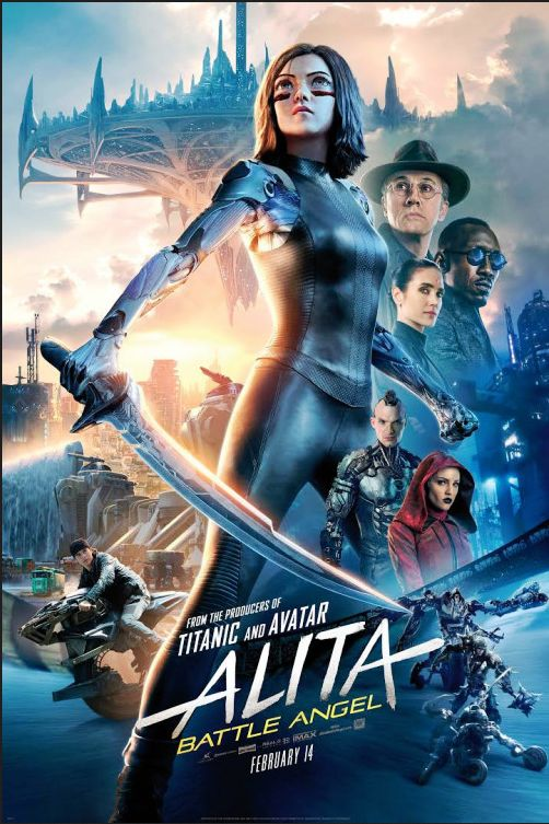 Alita Battle Angel (2019) Full Movie In Hindi 720p HDTC 75MB Download