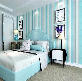 Desain Gambar Wallpaper Dinding Rumah Minimalis untuk Kamar Tidur