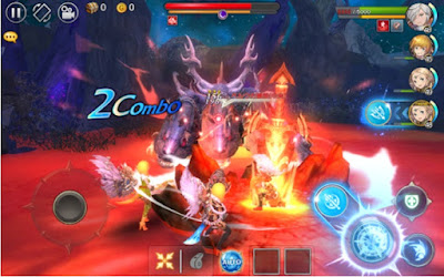 Serencia Saga Dragon Nest v1.0.2 APK Android (Mod Massive Damage)