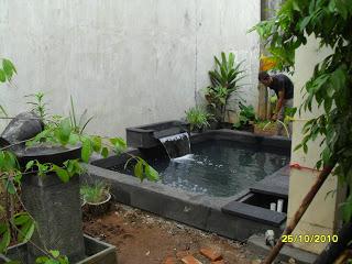 jasa bikin kolam ikan koi|pembuat kolam|pembuat taman