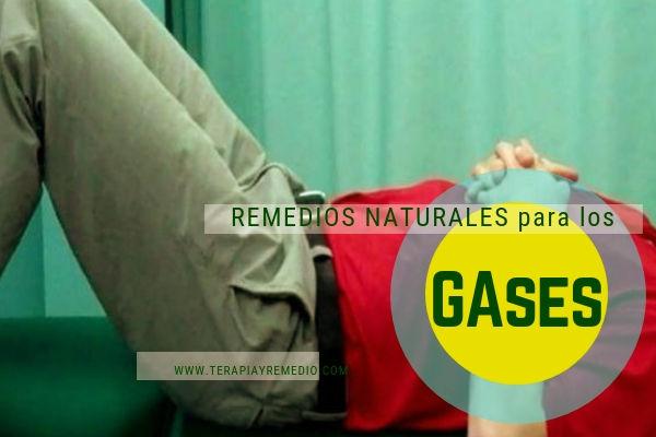 Remedios naturales para eliminar los gases intestinales.