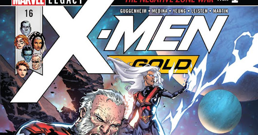 PREVIEW: X-MEN: GOLD #16