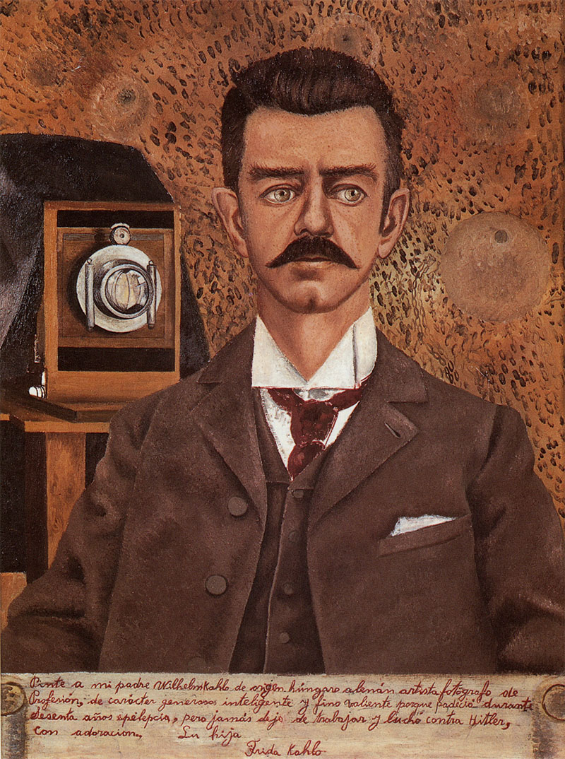 Frida Kahlo, Portrait of My Father