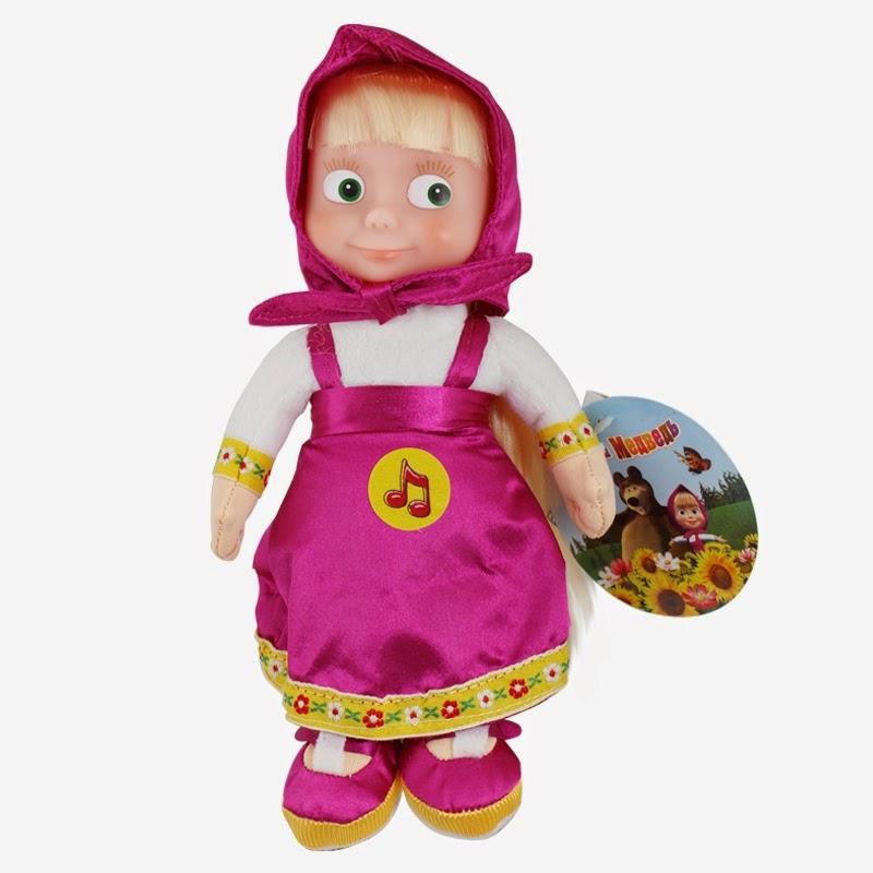 Gambar Boneka Masha and The Bear Lucu Funny Toys