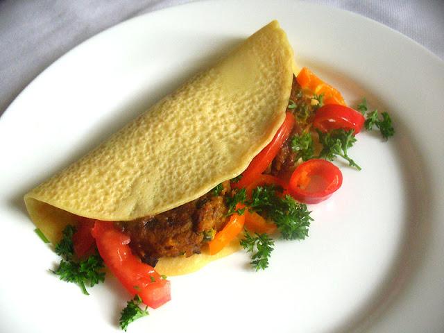 Vegetarian Samosa Wraps