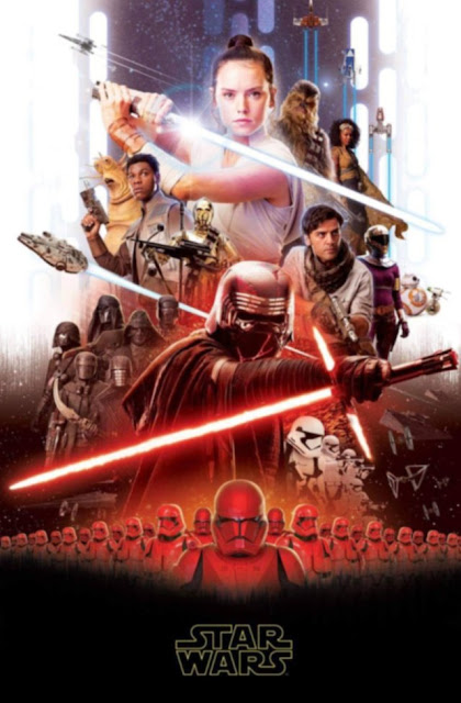 leaked star wars poster with knights of ren