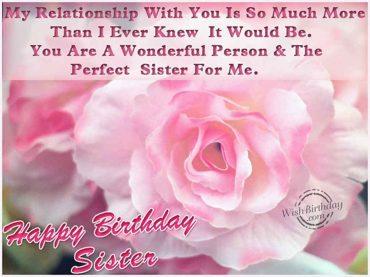 Top 27 images happy birthday wishes for sister and wishes quotes – Happy Birthday Greeting to Sister